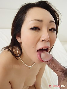 Appealing Japanese Beauty Gets Toyed and Dicked in Juicy Pussy