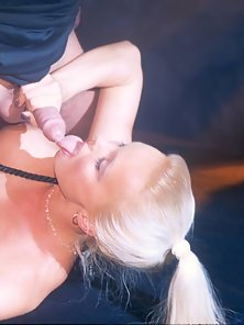 Silvia Saint sucking the cock