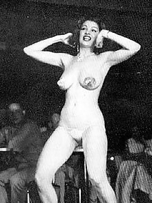 Tempest storm in the nude