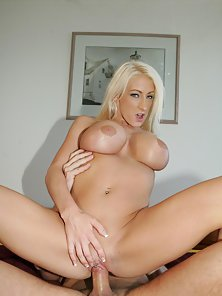 Busty Blonde Nadia Hilton Gets Her Sweet Pussy Pounded from Behind