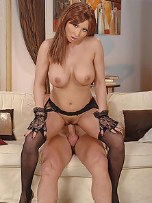 Sexy Babe Selina Gets Her Pussy and Tits Fucked by Firm Dick