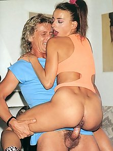 Naughty mom loves to get naughty with cock