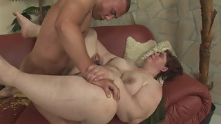Naughty Chubby Whore Passionate Sucking and Pleasing Tough Penis