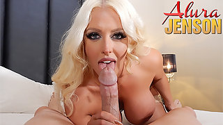Busty Blonde Pornstar Alura Jenson Gets Fucked by Brutal Dick