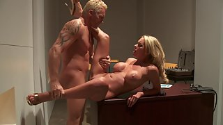 Riding hard dick makes her very happy