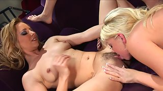 Three Blondes Love Amazing Pussy Licking